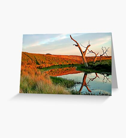 Lagoon on Thompson's Creek Greeting Card