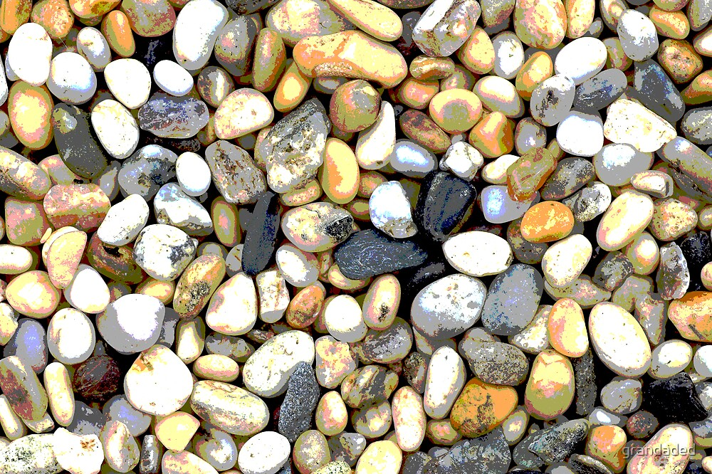 Seaside Pebbles by grandaded