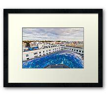 Madrid skyline Framed Print