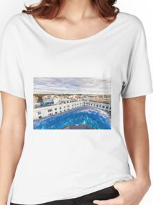 Madrid skyline Women's Relaxed Fit T-Shirt