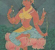 The Goddess of Wealth by Swagavad-Gita