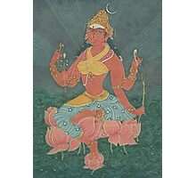 The Lotus Goddess Photographic Print