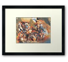 And I Won't Be Afraid - [Age of Ultron] Framed Print