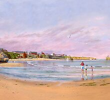 Cullercoats Bay Northumberland by Brian Towers