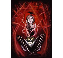 All I want is Halloween Photographic Print