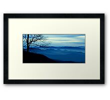 The Blue Ridge Mountains Framed Print