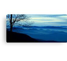 The Blue Ridge Mountains Canvas Print
