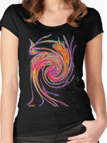 Care-free gone wild! Women's Fitted Scoop T-Shirt