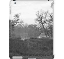 Pond at Dunham Massey.. iPad Case/Skin