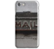 Mail Slot - New Orleans, LA iPhone Case/Skin