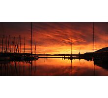 Hobart's Constitution Dock Photographic Print