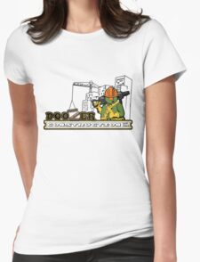 Doozer Construction Womens Fitted T-Shirt