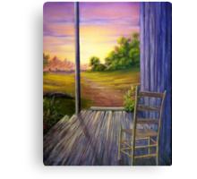 Grandpa's Chair Canvas Print