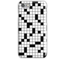 Crossword Pattern iPhone Case/Skin