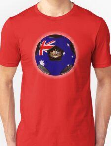 Australia - Australian Flag - Football or Soccer T-Shirt