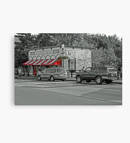 The Popcorn Shop Canvas Print