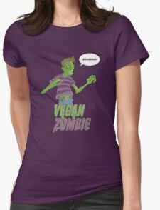 Vegan Zombie Womens T-Shirt