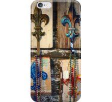 Fleur de Lis x4 - New Orleans, LA iPhone Case/Skin