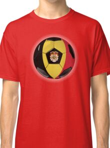 Belgium - Belgian Flag - Football or Soccer Classic T-Shirt