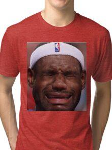 Celebs Crying Tri-blend T-Shirt