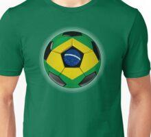 Brazil - Brazilian Flag - Football or Soccer Unisex T-Shirt