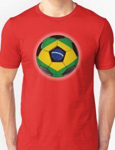 Brazil - Brazilian Flag - Football or Soccer T-Shirt
