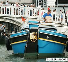 Delivery UPS Venice Italy by Reeshia1230