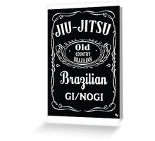 JIU-JITSU DANIELS Greeting Card