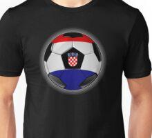 Croatia - Croatian Flag - Football or Soccer Unisex T-Shirt