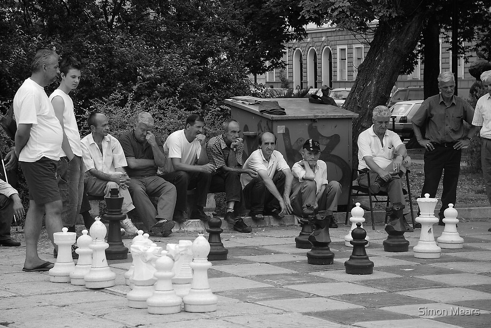 Chess by Simon Mears