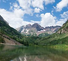 Maroon Bells by bluerabbit