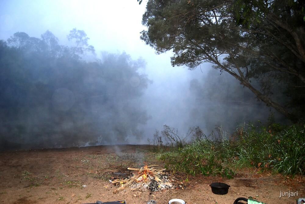 Misty Morning by junjari