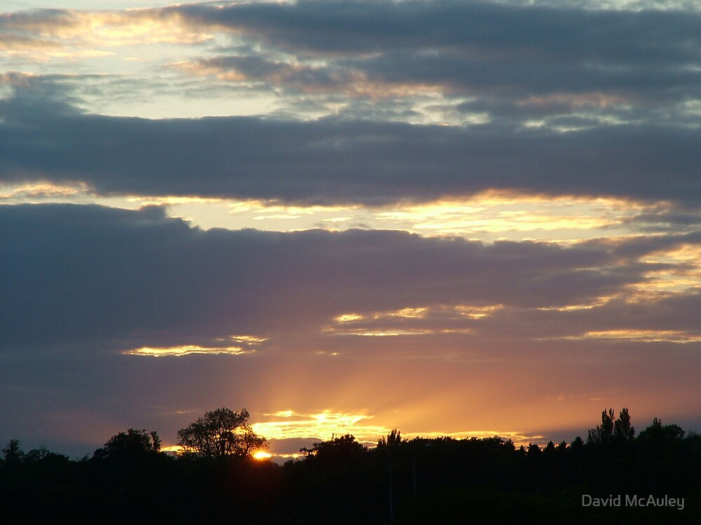 Dublin Sunset by David McAuley