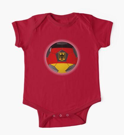 Germany - German Flag - Football or Soccer One Piece - Short Sleeve