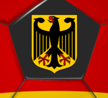 Germany - German Flag - Football or Soccer Sticker