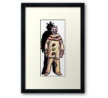 Twisty the Clown Framed Print
