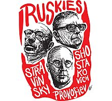 Ruskies-Russian Composers Photographic Print