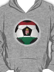 Hungary - Hungarian Flag - Football or Soccer T-Shirt