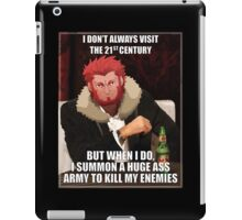 Iskander The Most Interesting Man In The World iPad Case/Skin