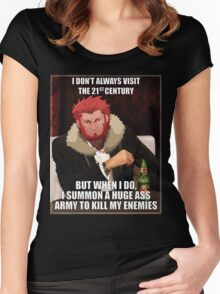 Iskander The Most Interesting Man In The World Women's Fitted Scoop T-Shirt