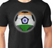 India - Indian Flag - Football or Soccer Unisex T-Shirt