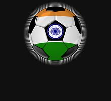 India - Indian Flag - Football or Soccer Unisex T-Shirt