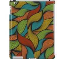 Colorful hair. iPad Case/Skin