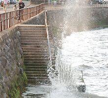 Waves Crashing by JImage