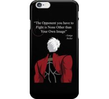 Archer Fate Stay Night Quote iPhone Case/Skin