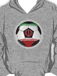 Iran - Iranian Flag - Football or Soccer T-Shirt
