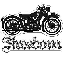 Freedom of the Motorcyclist Photographic Print
