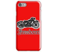 Freedom of the Motorcyclist iPhone Case/Skin