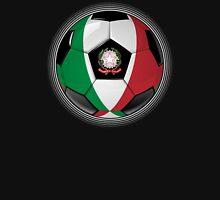Italy - Italian Flag - Football or Soccer Unisex T-Shirt