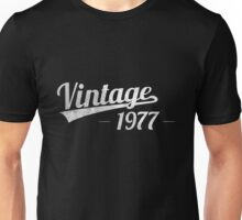 Vintage 1977 Unisex T-Shirt